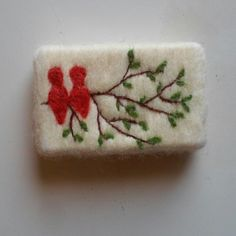 Soap On A Rope, Felted Soap, Wool Needle Felting, Exfoliating Soap, Felt Art, Wet And Dry, Felt Crafts, Artsy Fartsy, Wool Felt