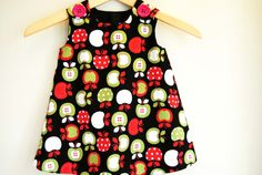 Baby Girl Apple Dress