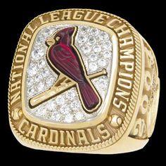 NLCS 2004 Ring Saint Louis Cardinals