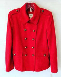 #LandsEnd #Canvas1963 #Wool #Coat   Size 10   $88! Call for more info (781)449-2500. #FreeShipping #ShopConsignment  #ClosetExchangeNeedham #ShopLocal #DesignerDeals #Resale #Luxury #Thrift #Fashionista