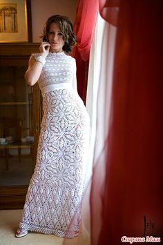 Девочки а такое платье тут уже вязали? Я начала вязать хочу вместе с вами))) КТО ПРИСОЕДЕНИТСЯ???