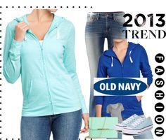"""Old navy Tee hoodie #12"" by kitty-wasch on Polyvore"