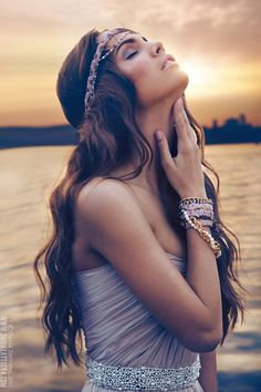 Portrait - Fashion - Boho - Bohemian - Hippie - Photography - Pose