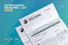 Clean Resume Cv Template Volume 6 by TheResumeCreator on     Infographic Resume Cv Template Vol 5 by TheResumeCreator on  creativemarket