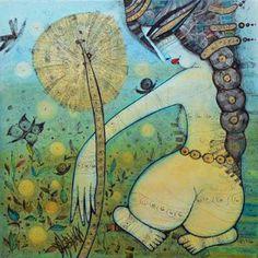 Albena Vatcheva, paintings