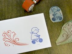Nick Morley is a linocut artist and illustrator. He makes prints and illustrations and teaches printmaking workshops in his Margate studio. Linocut Artists, The Artist's Way, Simple Prints, Cute Little Things, Diy Paper, Making Ideas, Printmaking, Art Projects, Greeting Cards