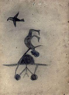 Bill Traylor, Untitled, 1939/42