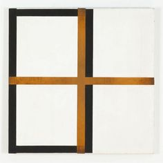 Harvey Quaytman Blond Iron 1987 acrylic and rust on canvas 28 x 28 inches 71 x 71 cms via online art museum