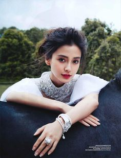 Angelababy for Harper's Bazaar China