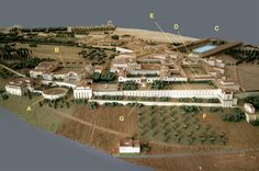 hadrian's villa plan - Google Search