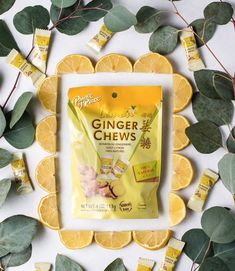 Spicy with a citrus twist. 🍋 Enjoy Ginger Chews with Lemon as a zesty treat to satisfy a craving or help soothe the stomach in a pinch. Have you tried them? #PrinceofPeaceGinger #POPGinger #MadeWithGinger #GingerCandy #GingerChews #Ginger #GingerBenefits #NauseaRelief #MotionSickness #DigestionSupport #StomachAche #POPGingerChewswithLemon #GingerRoot #GingerSnacks #HealthyCandy #HealthyCandy #HealthyTreats #ColdandFlu #Lemon #SeafoodCity #99RanchMarket #99Ranch #HMart #GNCLiveWell #Lemon Healthy Candy, Healthy Treats, Ginger Benefits, Cravings, Spicy, Lemon, Gluten, Tasty, Snacks