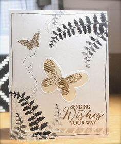 Stampin' Up! Butterfly Basics, Butterfly thinlits
