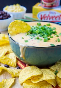 Spicy Southwest Queso Dip