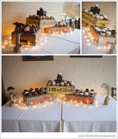 High school reunion decorating ideas, dessert table at event