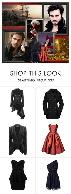 """""""I've waited years for this."""" by mckenzie-mh ❤ liked on Polyvore featuring Once Upon a Time, Haider Ackermann, The North Face, Alexander McQueen, Zac Posen and Te Amo"""