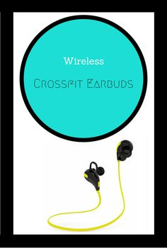 One simple change can make your workout so much more fluid.... Crossfit is all about mobility and efficiency, so drop your old earbuds and get a pair of wireless earbuds! Click the link to see the best wireless earbuds for crossfitters! #crossfit