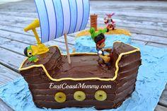 East Coast Mommy: Jake and the Neverland Pirates Cake