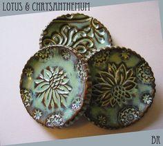 Pottery Prep Dish Mug Cover Tea Bag plate by DragonflyArts