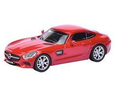Mercedes-AMG GT S - Red - Die-cast | Hobbyland