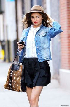 #Miranda Kerr, Style your denim jacket!    26      6