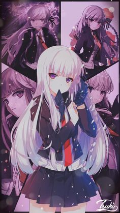 Cool Anime Girl, Beautiful Anime Girl, Kawaii Anime Girl, Anime Art Girl, Manga Girl, Anime Manga, Inuyasha Fan Art, Ecchi Neko, Estilo Anime