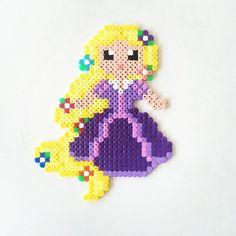 Rapunzel perler beads by perler_art