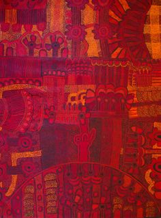Teresa Baker, Minyma Malilu, 2012, acrylic on linen, 200 x 150cm 12019LR For more Abroiginal art visit us at www.mccullochandmcculloch.com.au #aboriginalart #australianart #contemporaryart