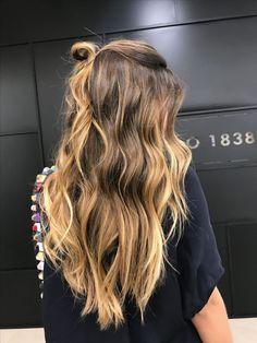 Brown Hair Tones, Brown Ombre Hair, Brown Hair Balayage, Brown Hair With Highlights, Brown Blonde Hair, Ombre Hair Color, Light Brown Hair, Brown Hair Colors, Brunette Hair