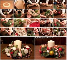 Diy Projects: Christmas Wreath