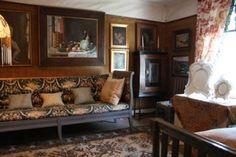 Emil Cedercreutz - artist's home Harjula, Fin Couch, Artist, Furniture, Home Decor, Settee, Decoration Home, Sofa, Room Decor, Artists