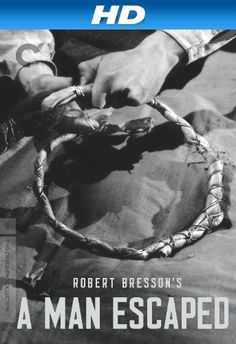 Directed by Robert Bresson.  With François Leterrier, Charles Le Clainche, Maurice Beerblock, Roland Monod. Captured French Resistance fighter Lieutenant Fontaine awaits a certain death sentence for espionage in a stark Nazi prison. Facing malnourishment and paralyzing fear, he must engineer an extraordinary escape, complicated by the questions of whom to trust, and in the absence of options, how to kill?