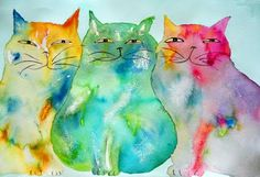 HALEIWA CATS BY LINDA BACHRACH