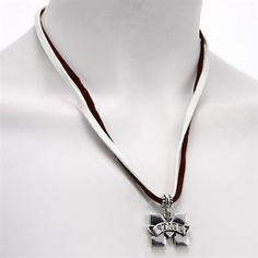 Mississippi State Bulldogs Double Cord Necklace  @Fanatics ®  #FanaticsWishList