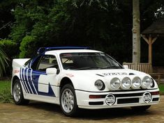 Ford RS200 - I have done rallying in one of these and it was amazing!