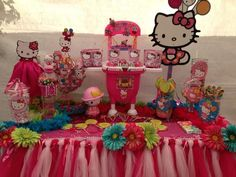 Hello Kitty Birthday Party #hellokitty #party
