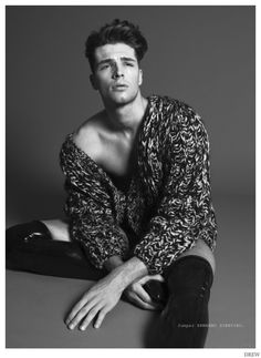 "Edward Wilding in ""Chemistry"" by Saverio Cardia for the Fall Winter 2014 Issue of Drew Magazine"
