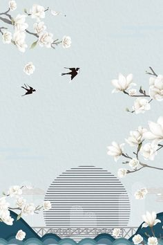 Flower Background Images, Chinese Background, Flower Backgrounds, Wallpaper Backgrounds, Backgrounds Free, Best Flower Wallpaper, Poem Design, Flower Graphic Design, Simple Poster