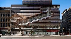 Take a peek at the 2015 North American Copper in Architecture awardees | University Center - The New School | Architect: Skidmore, Owings & Merrill. Photo: James Ewing | Bustler