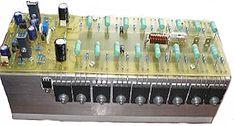 Este amplificador tem uma excelente qualidade com um baixo custo de montagem, na sua etapa de potência são utilizados os transistores 2SC5200 e 2SA1493 Electronics Projects, Diy Electronics, 12 Inch Speaker Box, Electronic Circuit Design, Hifi Amplifier, Subwoofer Box Design, Electrical Circuit Diagram, Audio Design, Ham Radio