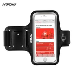 Mpow Running Sport Armband for iPhone 7 Adjustable Sweat-proof Case w/ Earphone and Key Holder for iPhone 7 etc 5.1'' Smarphones //Price: $7.79//     #electonics