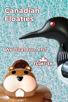 We are a Canadian company designing premium floaties that vibe with the Canadian outdoors from coast to coast.