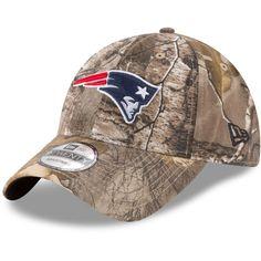 9351cb25923 Men s New England Patriots New Era Realtree Camo Realtree 9TWENTY  Adjustable Hat