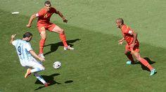 Higuain the Valdano to Messi's Maradona?