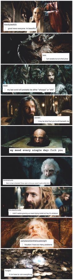 Hobbit + text posts