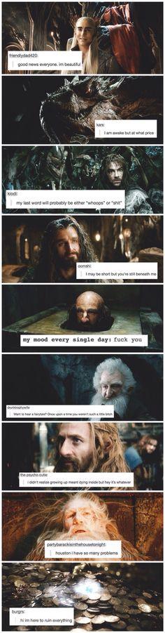 Hobbit + text posts