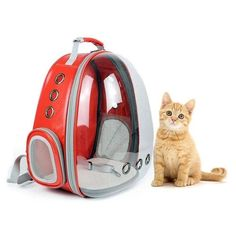 New-Portable Pet/Cat/Dog/Puppy Backpack Carrier Bubble, New Space Capsule Design 360 degree Sightseeing Rabbit Rucksack Handba Cat Backpack Carrier, Puppy Backpack, Cat Carrier, Pet Cooling Pad, Small Pet Carrier, Pet Bag, Small Cat, Pet Store, Pet Clothes
