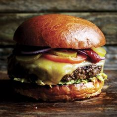 Borough Burger | Marcus Verberne, Roast: a very British cookbook