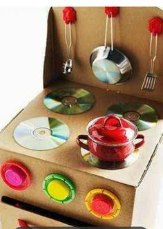 Cocina- reciclaje