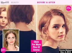 Emma Watson's short hair is officially back! The 'Harry Potter' actress has gone for the big chop once again, cutting her hair into an insanely chic bob! Click here to see her dramatic hair transformation!