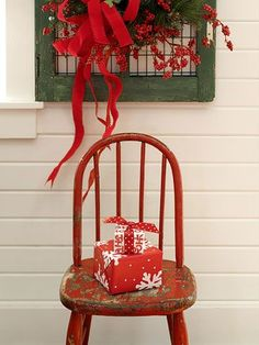 Chairs - always great to decorate with wherever!
